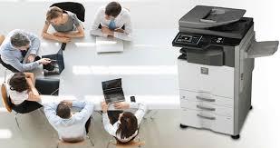 do muc may photocopy sharp ar-6031n