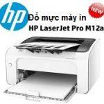 Đổ mực máy in HP M12A