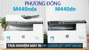Đổ mực máy photocopy HP M440